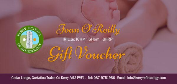 Reflexology Gift Voucher